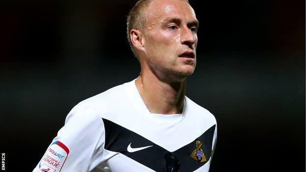 David Cotterill (Doncaster Rovers), l'homme du mois de novembre.