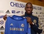 Soccer - Demba Ba Signs for Chelsea - Cobham Training Ground