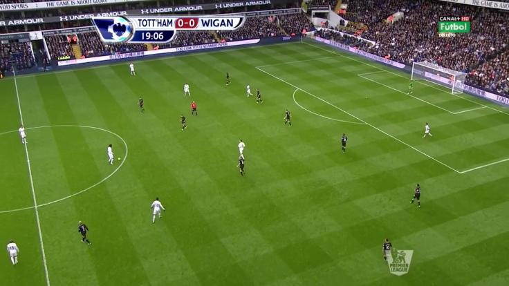 Wigan peut se moduler dans un 5-4-1 militaire