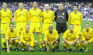 Leeds vs Valence, 2001: Kewell, Viduka, Ferdinand, Dacourt, Smith...